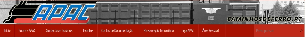 Fent amics: Associação Portuguesa Dos Amigos Dos Caminhos De Ferro. Núcleo Regional Norte. APAC – NRN