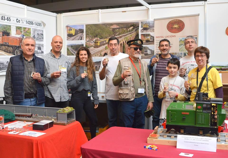 El Club Ferroviari de Terrassa al Saló Lleida Expo Tren 2019. Actualització.