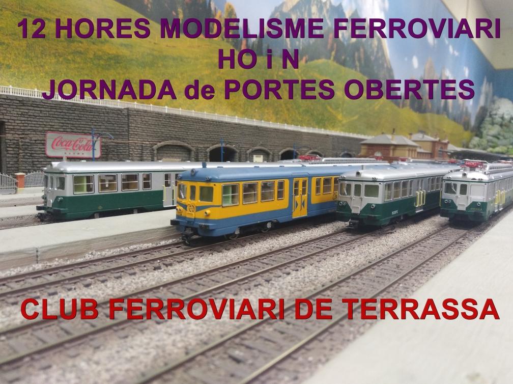 XIII Jornada de Portes Obertes. 12 Hores de modelisme ferroviari. Àlbum de fotografies. Ampliació