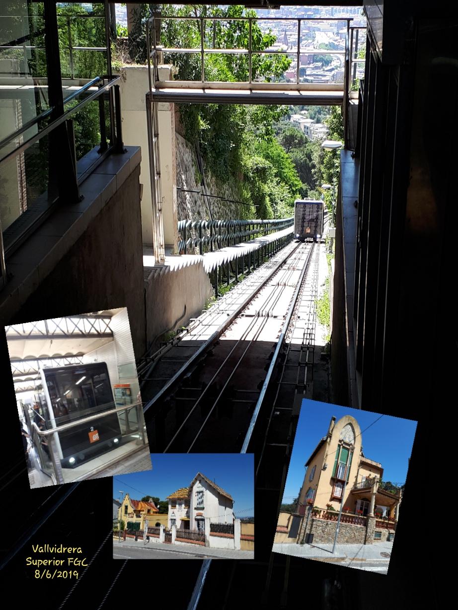Àlbum de fotografies de la darrera sortida en tren: Els Funiculars de Barcelona. 8-JUNY-2019
