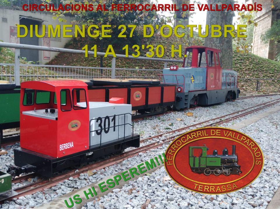 Circulacions al Tren de Vallparadís