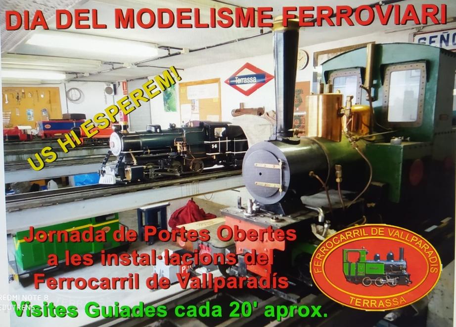 Dia del Modelisme Ferroviari: Jornada de Portes Obertes
