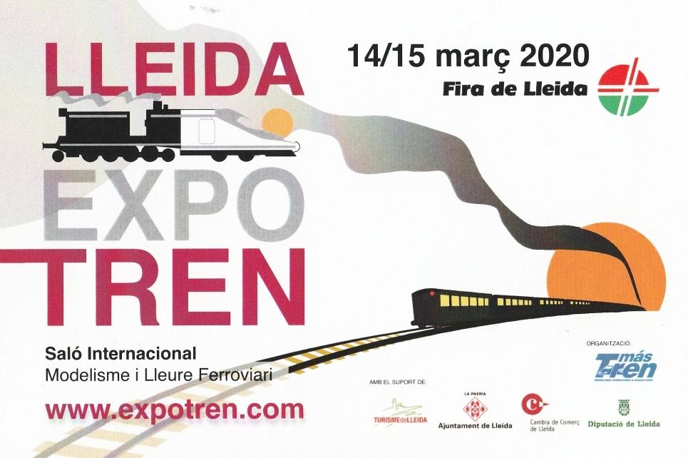 Avanç de Fira: Lleida ExpoTren 2020