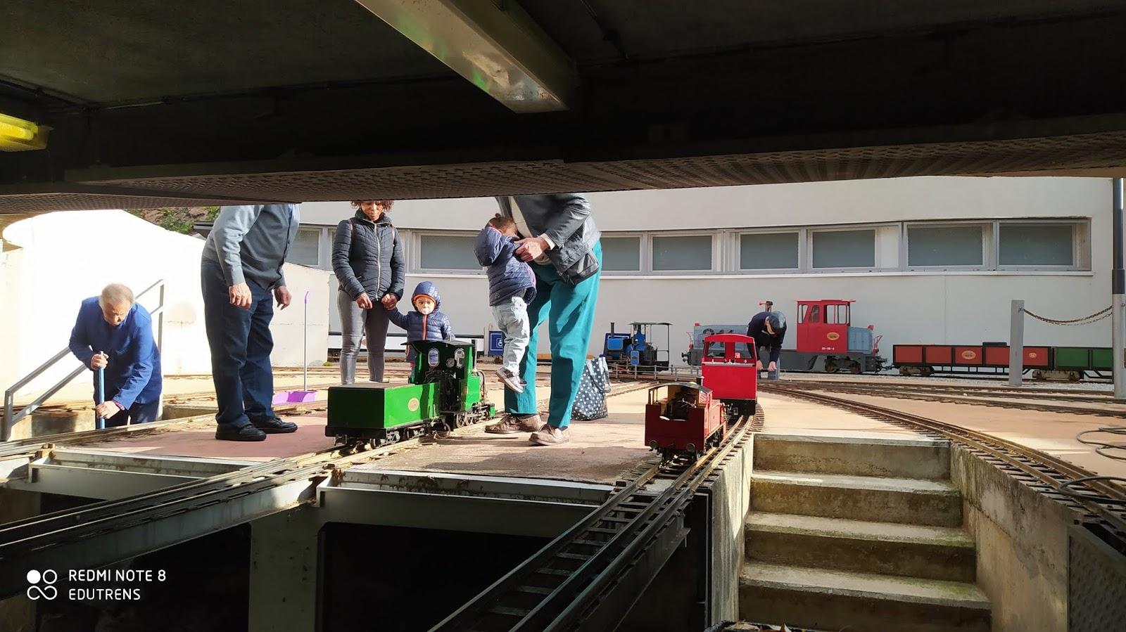 Jornada de Portes Obertes al F.C. de Vallparadís amb visites guiades. Dia del Modelisme Ferroviari. Club Ferroviari de Terrassa.  Edu Martínez