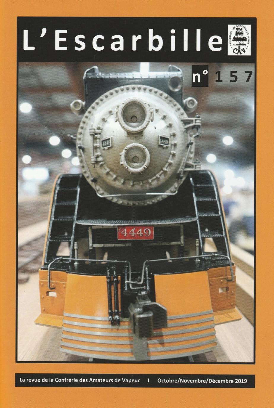 *** El Tren de Vallparadís, a la revista l'Escarbille.