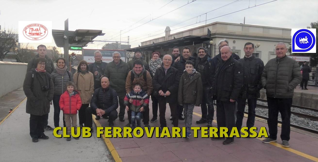 Ruta fotogràfica en suport de l'estació de Sant Feliu de Llobregat. Comentari i fotografies de l'Edu Martínez.
