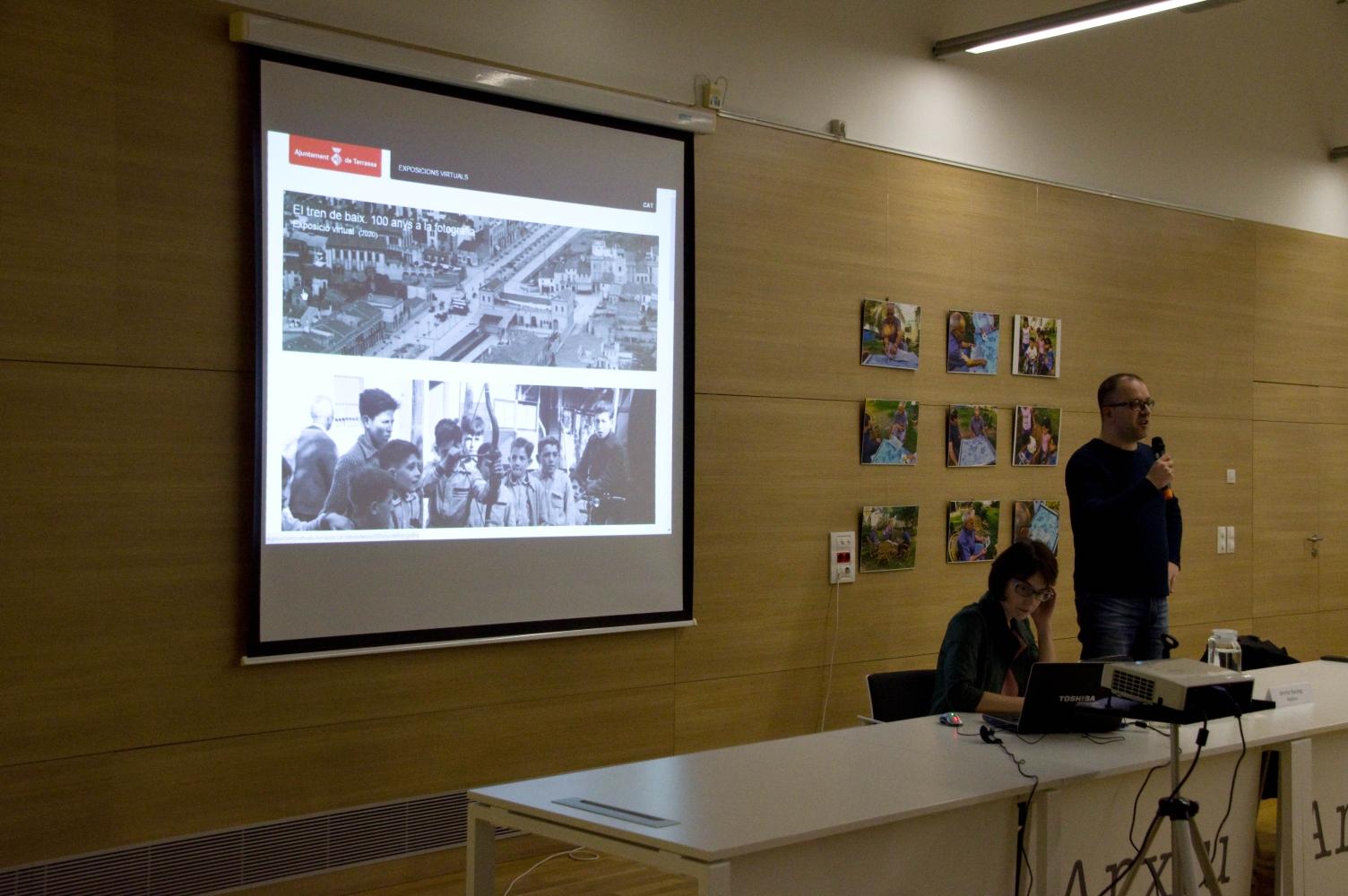 Conferència d'en Jordi Orta – Fotografies de l'acte