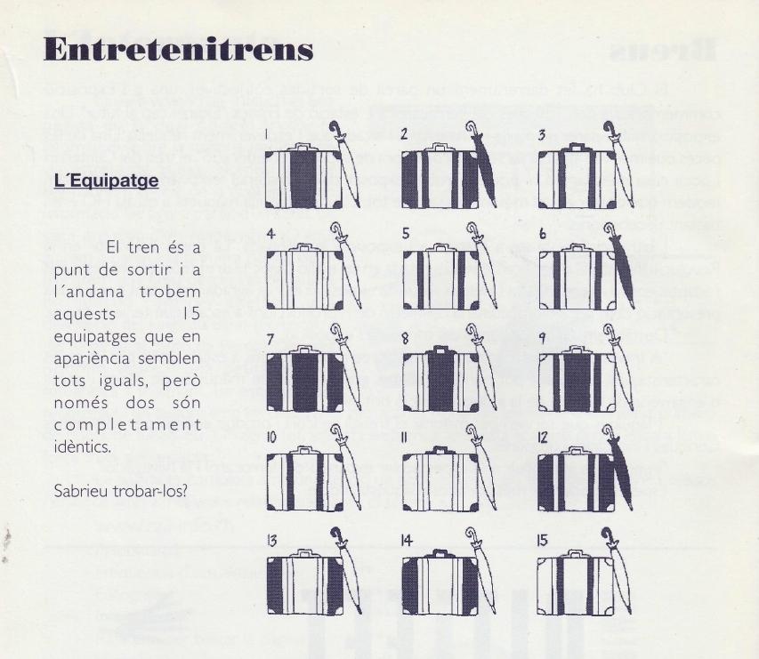 """Entretenitren"", del Segle XX"