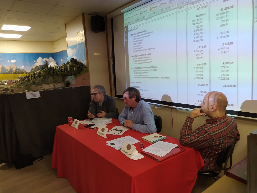 Assemblea General Ordinària 29-FEB-2020. Eduard Martínez