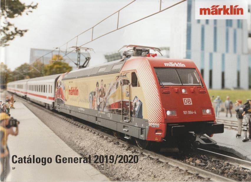 Catàlegs de modelisme ferroviari del 2020. Disponibles a la Biblioteca del Club