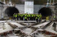 Visita obres estació Terrassa Nacions Unides i dipòsit de trens