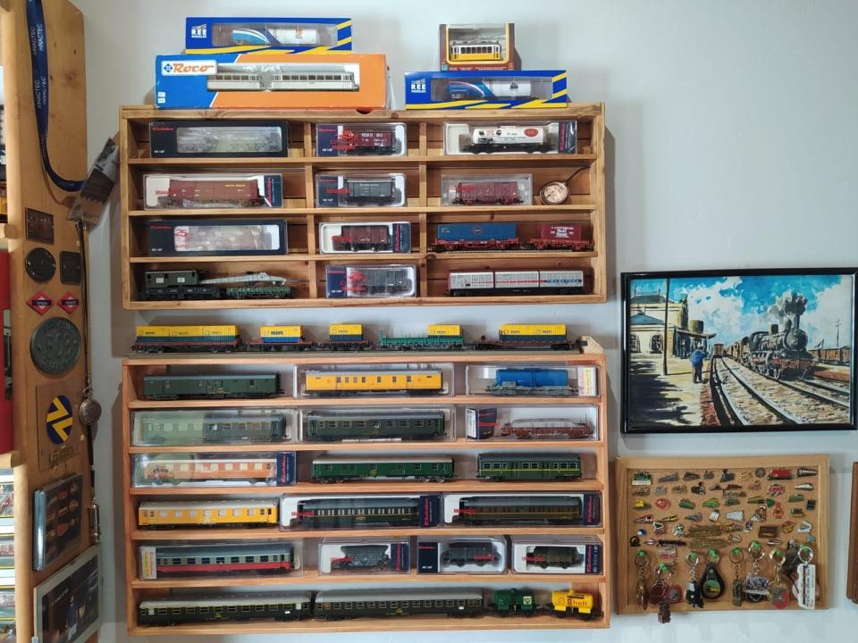 Visites virtuals als tresors ferroviaris dels nostres socis/es.  III – Edu Martínez