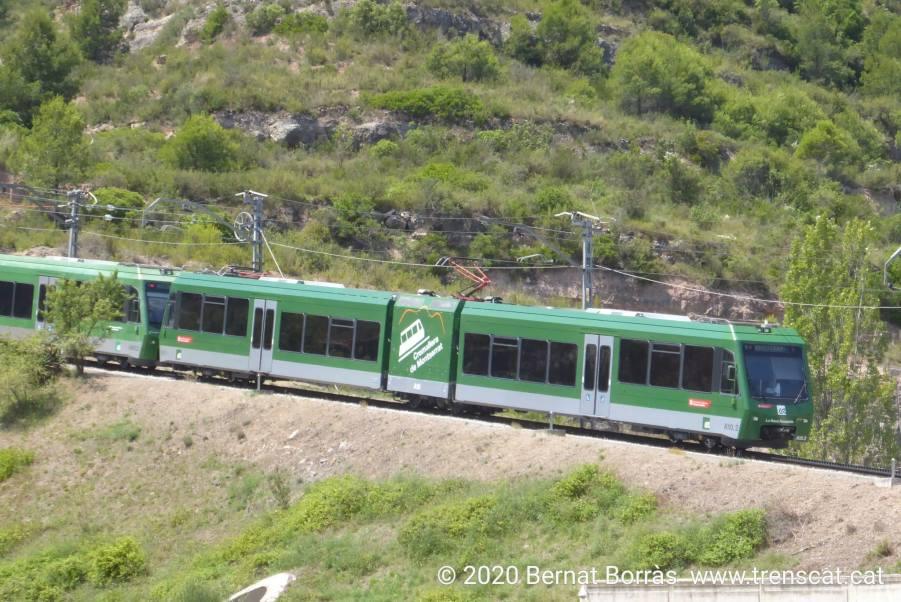 Trasllat d'automotor del Cremallera de Núria al Cremallera de Montserrat. Bernat Borràs