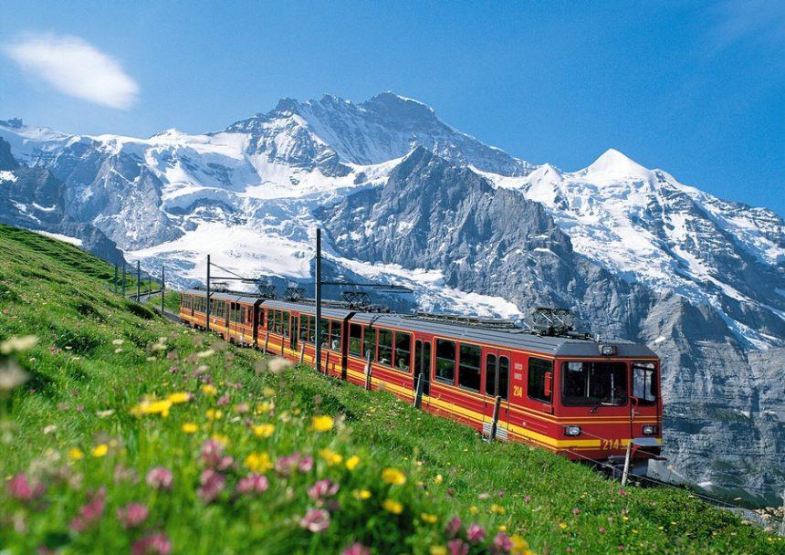 Cremallera de la Jungfrau