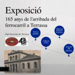 165 aniversari de l'arribada del ferrocarril a Terrassa
